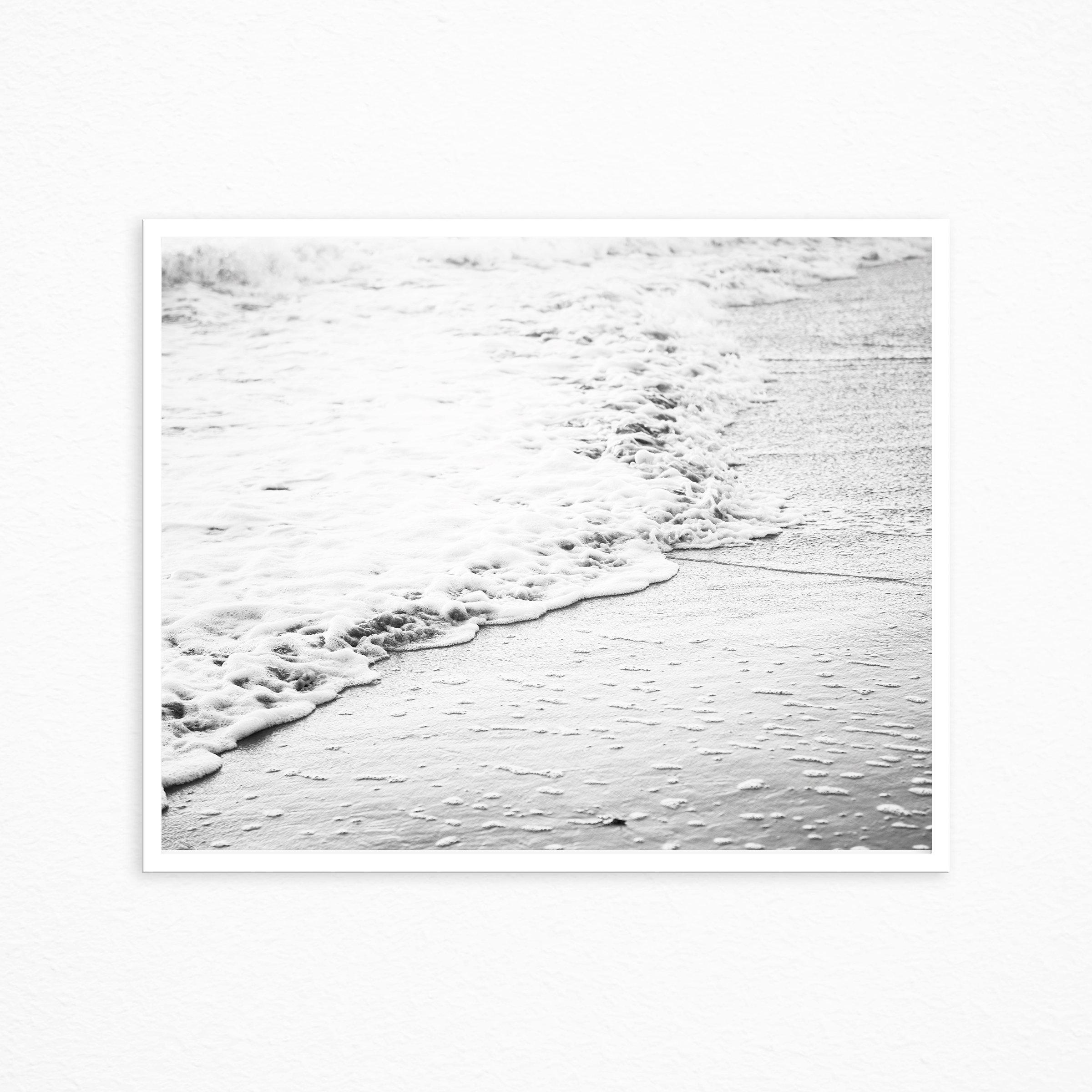 Schwarz und weiß-Strand-Druck Strand drucken Küsten Dekor   Etsy