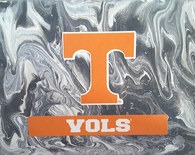 "Tennessee Vols Art 5 x 7"" original painting"