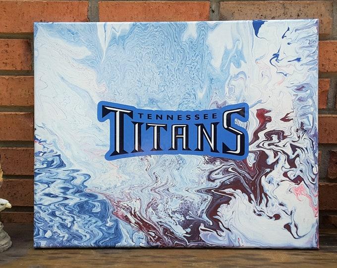 TN Titans Fluid Art #23
