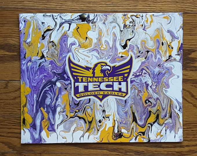 Tennessee Tech Eagle Wings Up Painting  8x10""