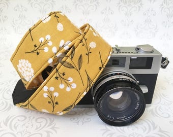 Skinny Camera Strap, Basic DSLR Camera Strap, Padded, Photographer, Nikon or Canon Camera, Binocular Strap, Photographer Gift -Cotton