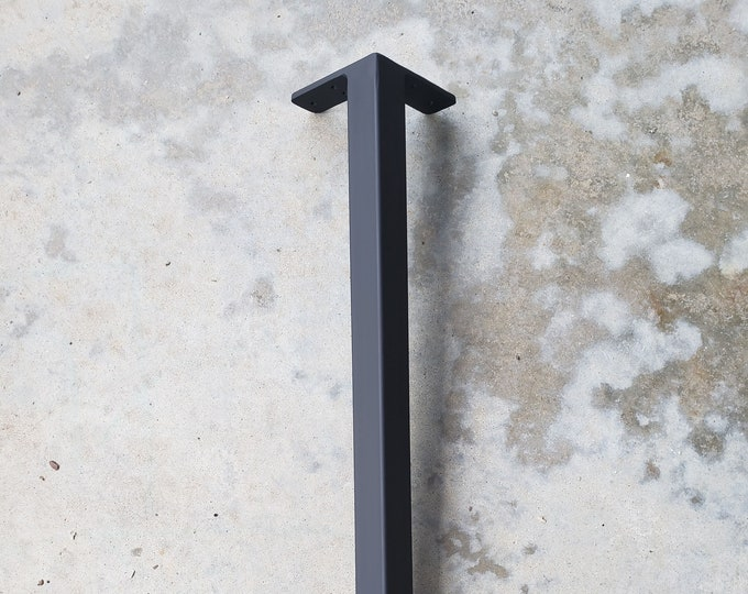 "Metal Table Legs Furniture Legs 1.5"" Metal Table Leg Steel Leg SOLD AS EACH Steel Legs Table Legs Metal Table Legs"