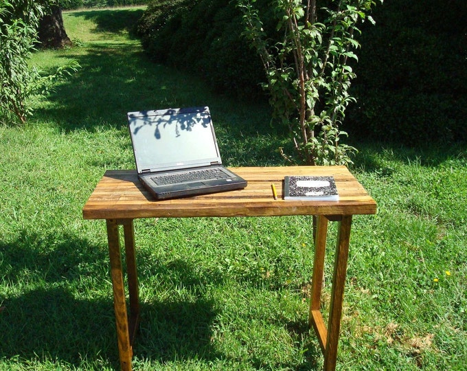 Reclaimed Wood Table Wood Table  Rustic Wood Table Wood Desk