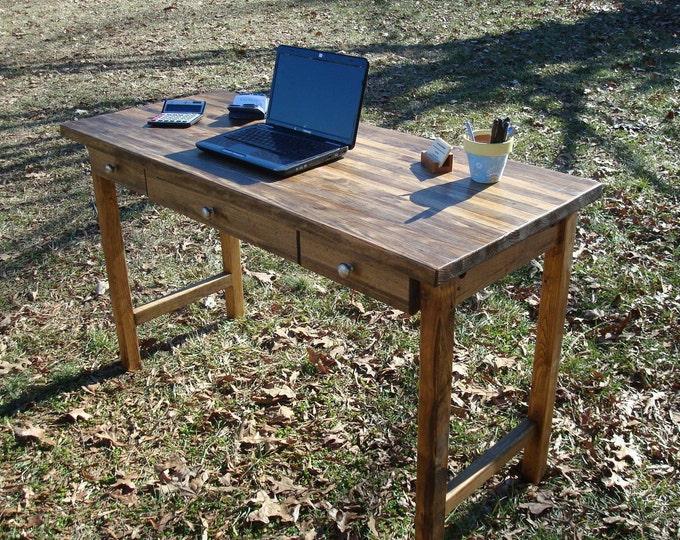 Reclaimed Wood Desk Office Desk Executive Desk Reclaimed Wood Desk