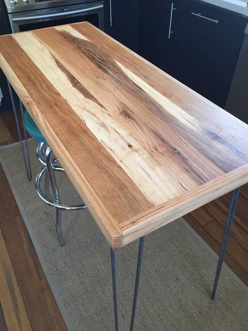 Amazing Reclaimed Wood Table Reclaimed Wood Desk Mixed Wood Steel Legs Hairpins Download Free Architecture Designs Scobabritishbridgeorg