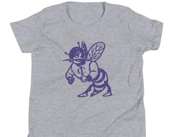 Youth Short Sleeve T-Shirt   Vintage Hornet   Irion County ISD   Mertzon, TX