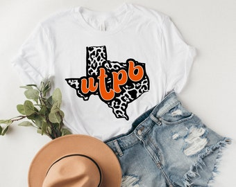 UTPB Shirt   University of Texas Permian Basin   The High Five   Fear the Falcon   Odessa Texas   College Game Say Shirt   Football   Texas