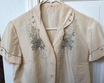 623473ddeeec9d Vintage Chinese Embroidered blouse