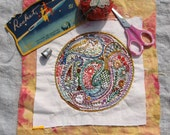 Paisley Embroidery Sampler