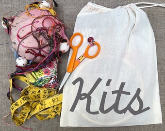 KITS Original Dropcloth Sampler Embroidery Kit