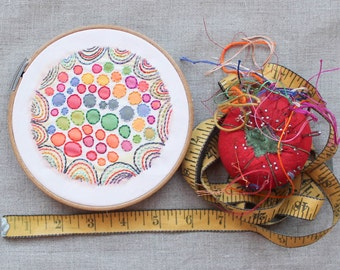 Colorburst Embroidery Single: BUBBLEGUM