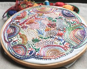 Disco Nap Embroidery Sampler