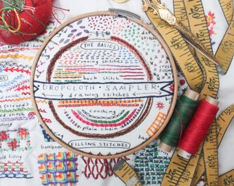 Drawing Stitches Sampler