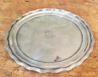 Antique Tiffany and Co Silver Plated Tray
