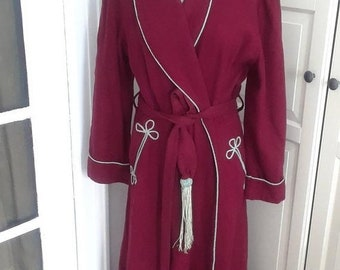 Wool Robe Etsy