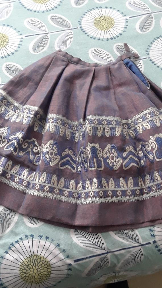 Vintage 1950\u2019s Full Swing Skirt