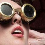 Steam Laboratory Solid Brass Goggles