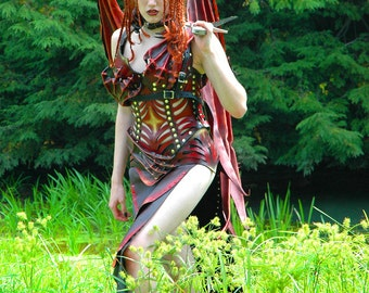 Lamia Leather Demon Costume