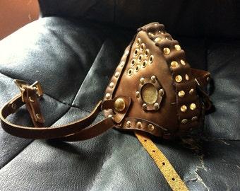 Basic Leather Altitude Mask