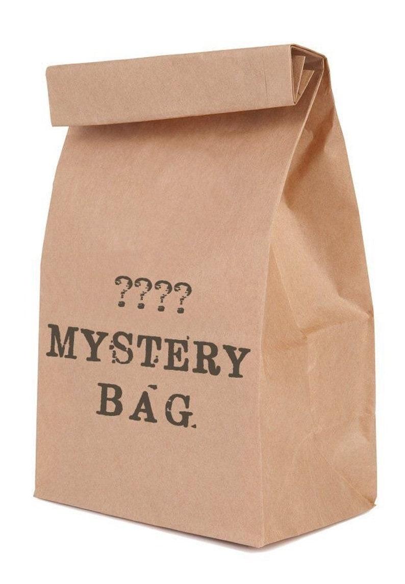 Mystery Bag Surprise Junk Journal Packet Vintage Book Paper Crafting