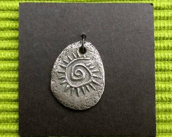Artisan charm #12 WB...spoke spiral