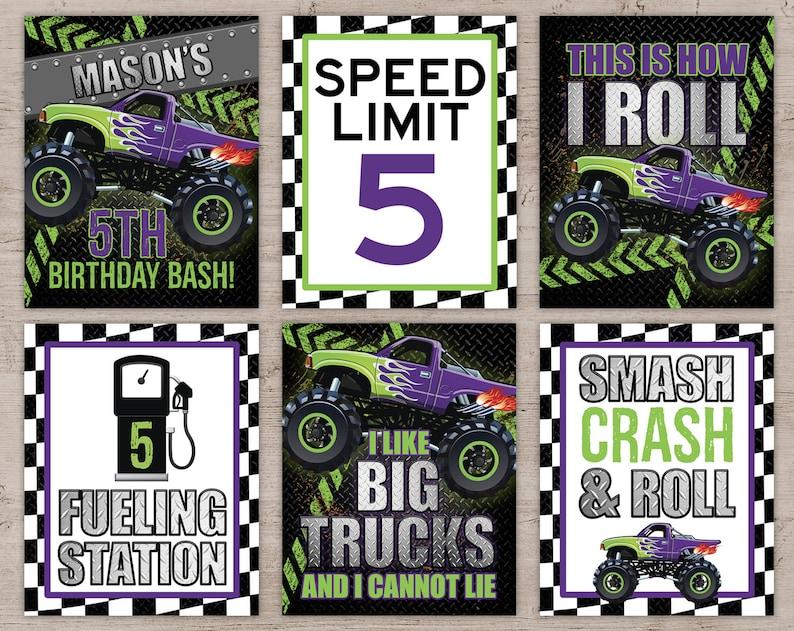 image 0 Purple & Green