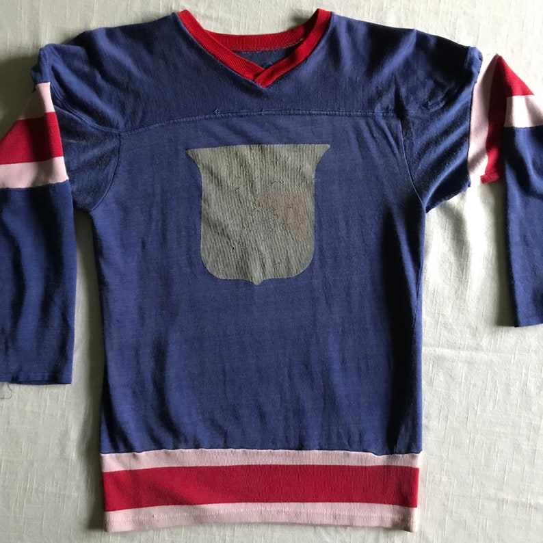 New York Rangers Nhl 70 S 80 S Distressed Faded Well Etsy