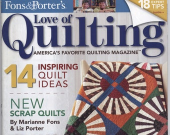 September/October 2014 Fons & Porter's Love of Quilting Magazine - TIB12504