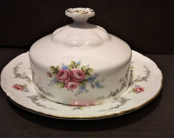 Royal Albert Tranquility Covered Butter Dish