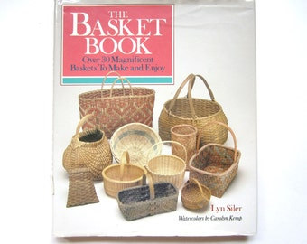 The Basket Book, a Vintage Craft Book