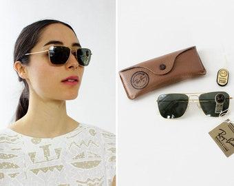 69287789e5 Ray Ban Caravan Sunglasses 52mm-16 • Vintage Ray Ban Sunglasses • Deadstock  Ray Ban Sunglasses • Ray Ban Aviators • Caravan Aviators • W558