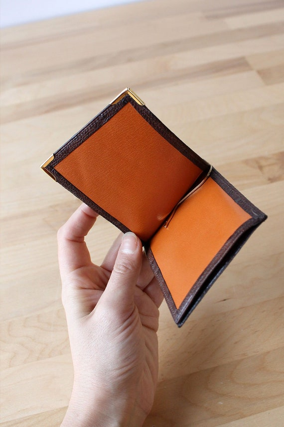 Pierre Cardin Ostrich Wallet • 70s Wallet • Vinta… - image 4