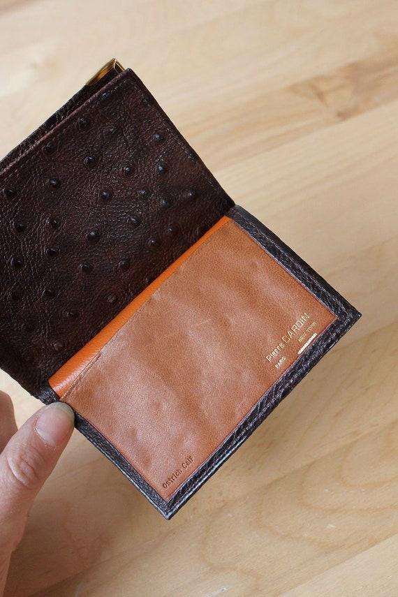 Pierre Cardin Ostrich Wallet • 70s Wallet • Vinta… - image 3