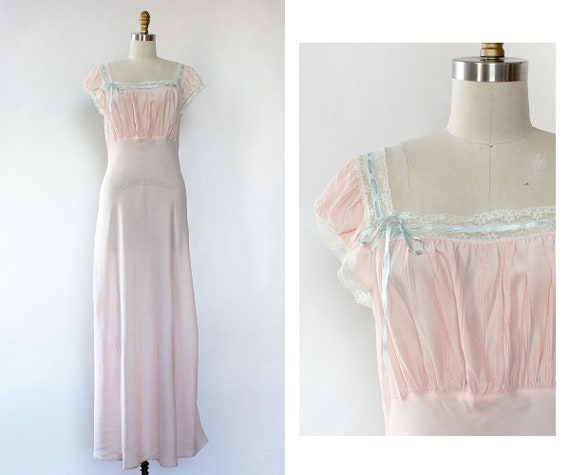 6550c4d6ab4 Barbizon Nightgown M Vintage 50s Nightgown Barbizon Slip