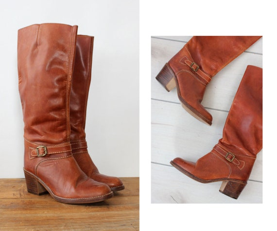 Redwood Tall Boots 6.5-7 • 70s Boots • Vintage Bro