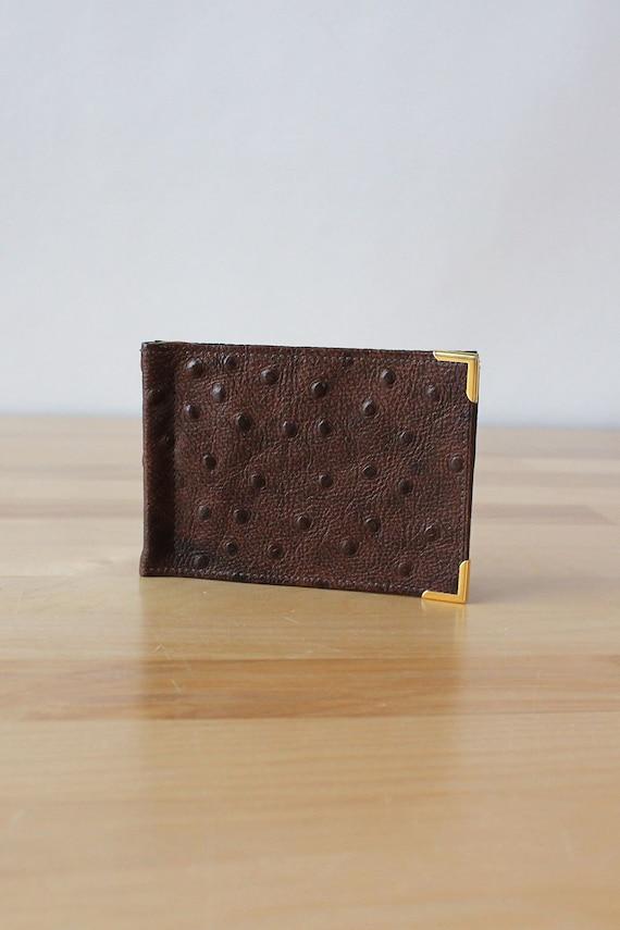 Pierre Cardin Ostrich Wallet • 70s Wallet • Vinta… - image 1