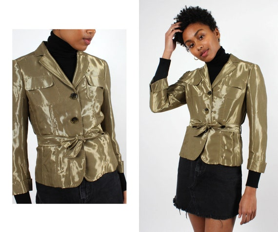 Moschino Metallic Jacket S • Vintage Jacket • Meta