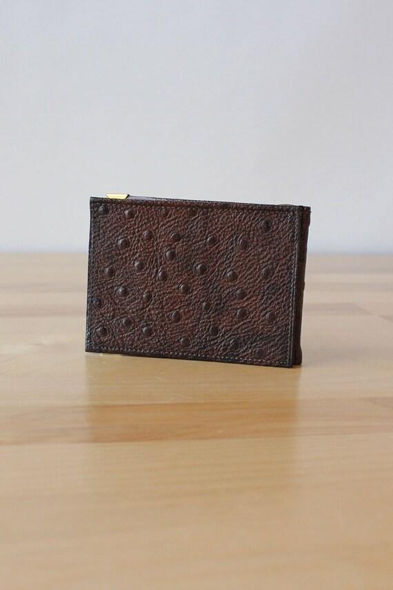 Pierre Cardin Ostrich Wallet • 70s Wallet • Vinta… - image 2