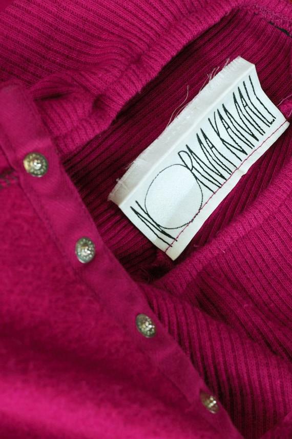 Norma Kamali Snap Skirt XS/S • 80s Skirt • Vintag… - image 6