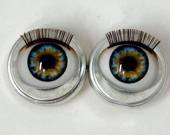 American Girl Custom Brown Eye Open Close Doll Eyes New CLEARANCE 2 PACK