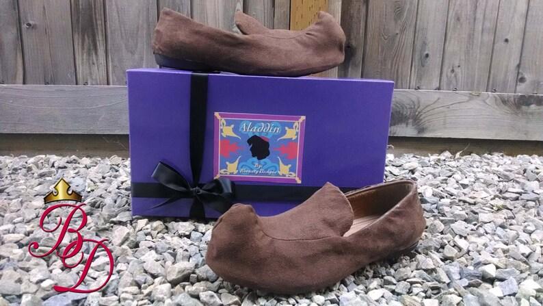 Adultos Calle Custom En Aladino Rata Zapatos Traje Rizado Gamuza Hechos OkXiPlwZuT