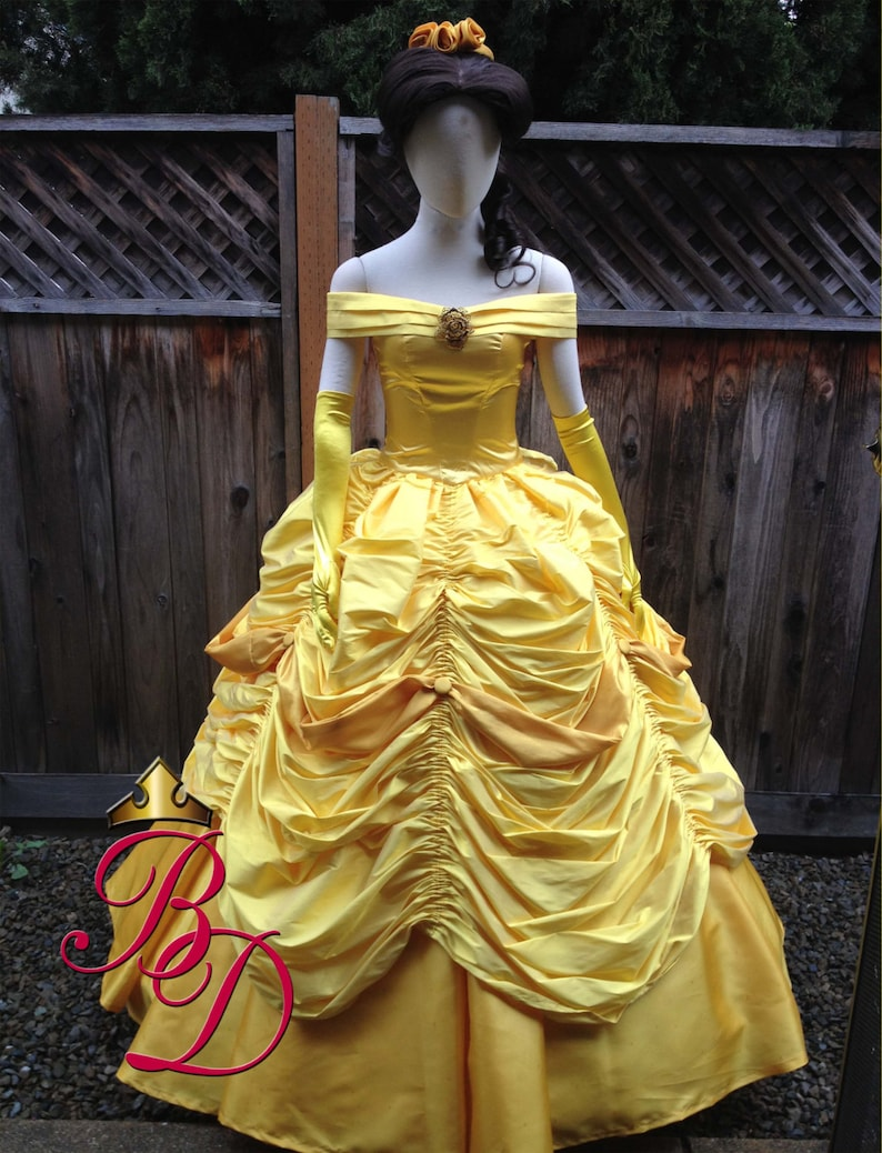 17eca4aba68 Belle Beauty and the Beast Adult Costume Gown Version K