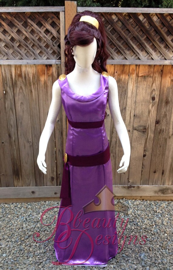 Hercules Princess Megara Cosplay Dress Costume Adult Women
