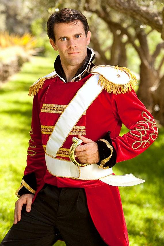 b2c3d09d9 Traje adulto príncipe encantador juguete soldado varonil