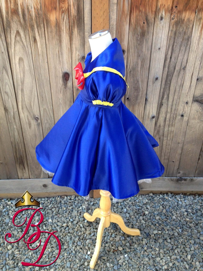 Bbeauty Baby Donald Duck Inspired Sailor Babydoll Style Dress AGES 2-5yrs Ready to Ship