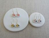 Satellite Drop Earrings