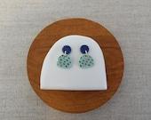 Moon & Mountain Stud Earrings in 6 colours