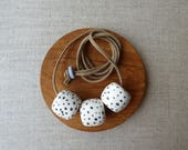 Speckles Tube Necklace...