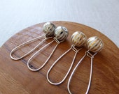 Onion Ball Kindey Wire Earrings