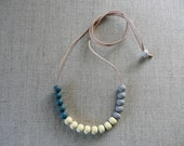 Trio Ceramic Bead Necklac...